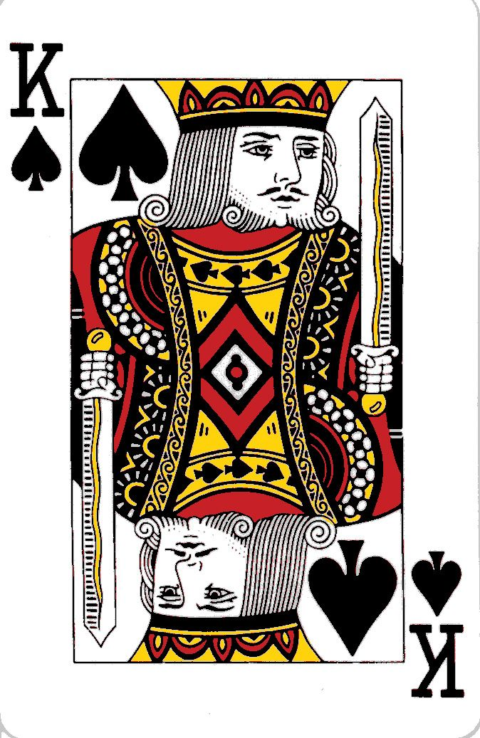 Quennofhartes  King And Queen Of Hearts Playing Cards