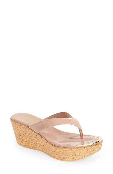 23be7e9d3 Callisto  Jaynie  Platform Thong Sandal (Women) available at  Nordstrom