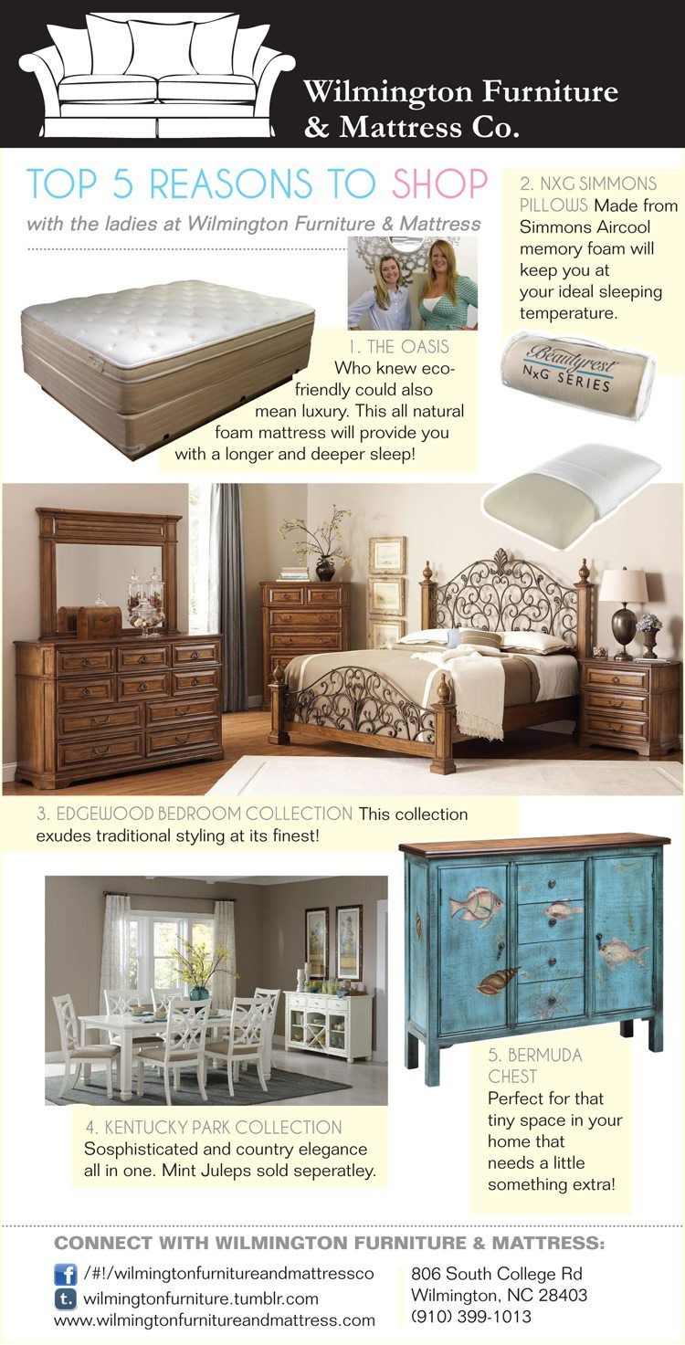 The Nature S Image Oasis Gets A Mention In Cute Look Book Put Together By Las At Wilmington Furniture And Mattress