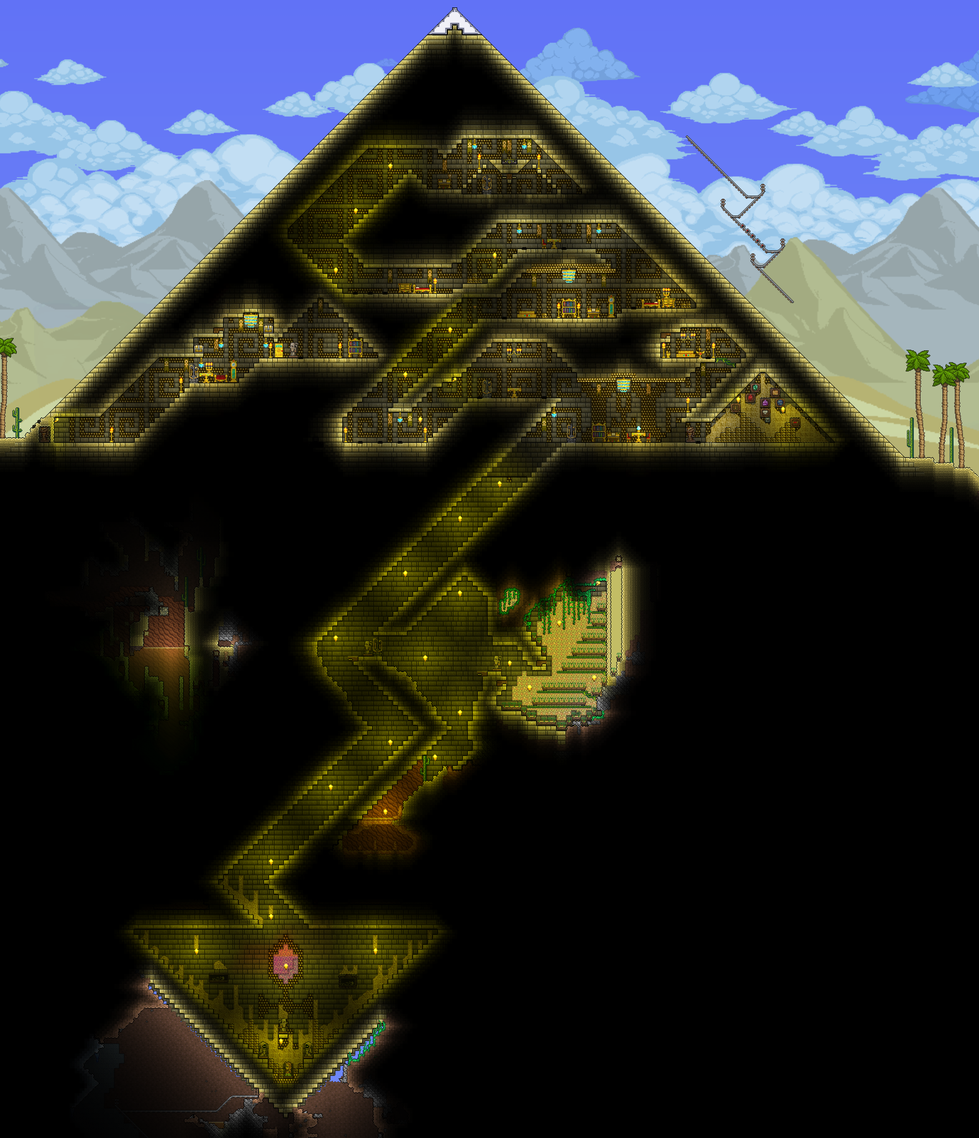 Terraria House Designs