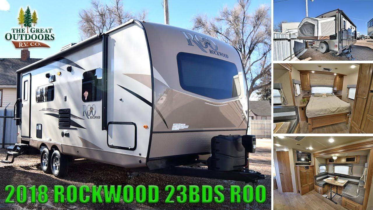 2019 Rockwood 2304ds Ultra Lite Double Slide Murphy Bed Camper Rv