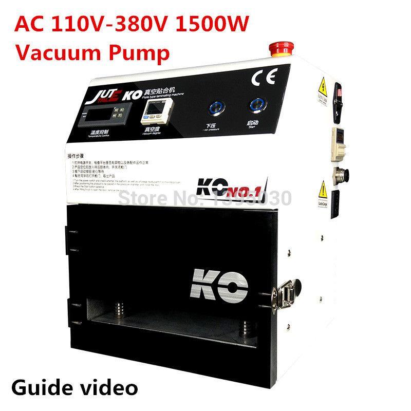 Oca Vacuum Laminating Machine For Bonding Glue Adhesive On Lcd Display Screen Of Phone Repair Refurbish Laminator Vacuum Glass Repair