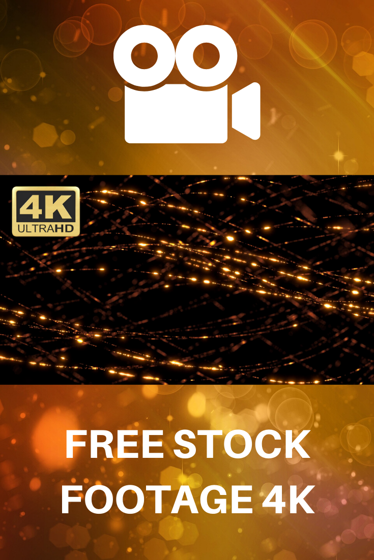 Abstract Motion Background Loop Golden Particles Strings Free Stock Footage Motion Backgrounds Stock Footage