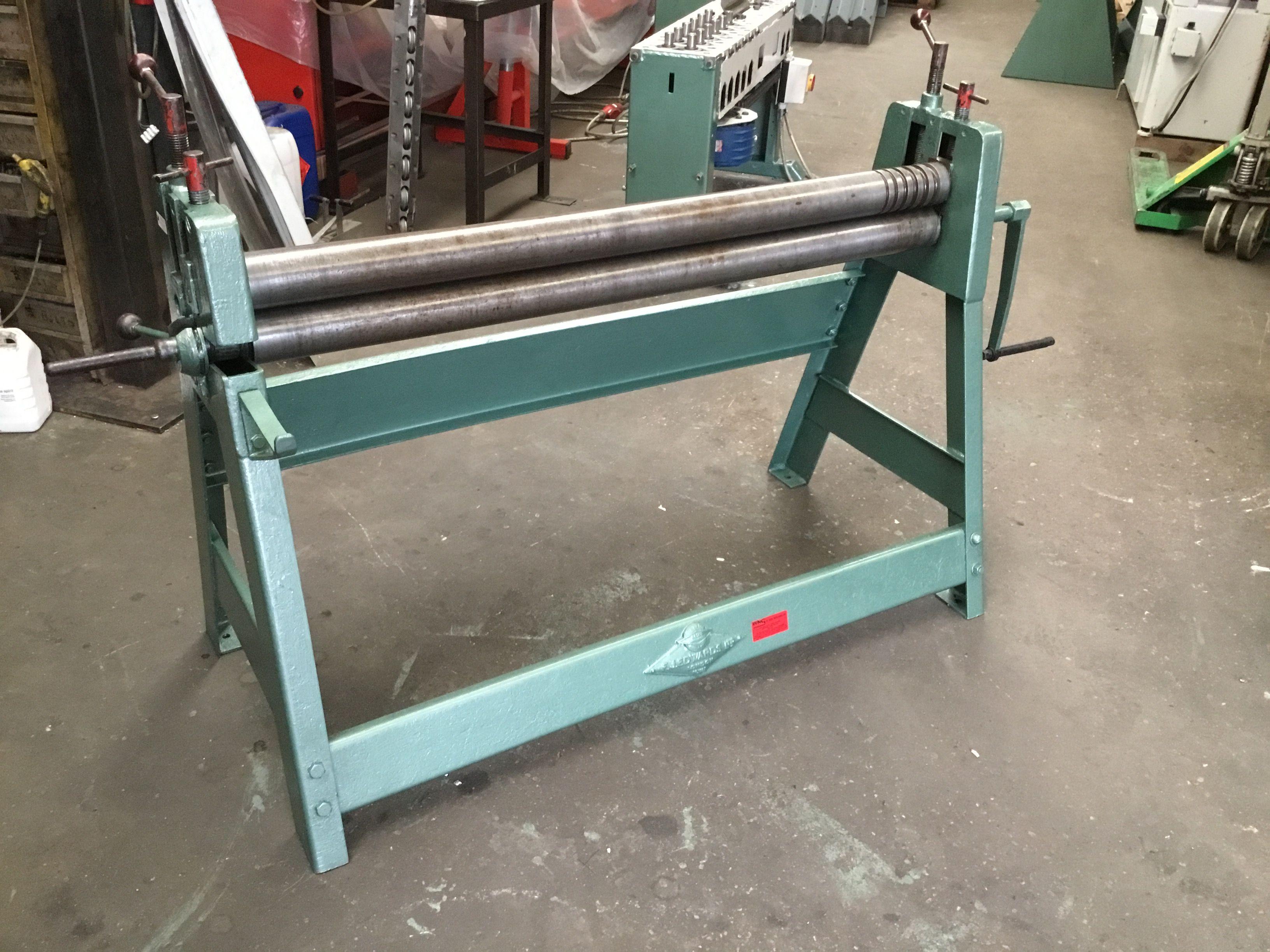 Edwards Sheet Metal Bending Rolls Rollers Sheet Metal Roller Metal Bending Sheet Metal