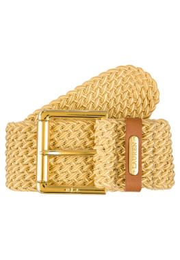 Lauren Ralph Lauren Cinturón Trenzado Dorado CentralMODA.COM  f0e15a803af7