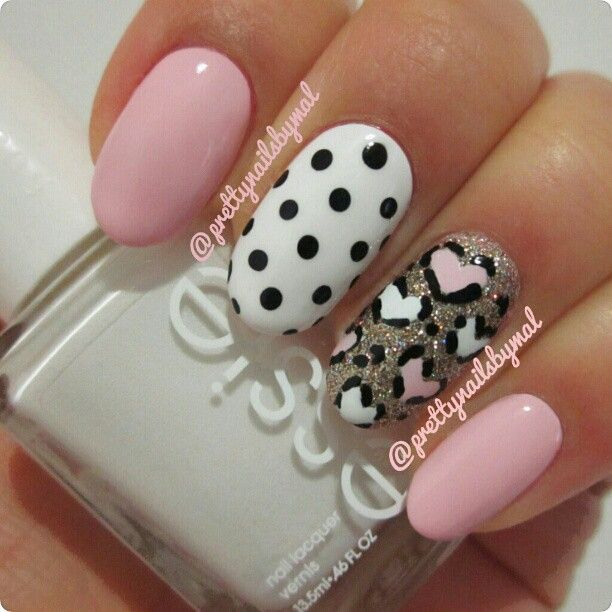 22 Romantic Nail Designs for Your Valentine's Day - 22 Romantic Nail Designs For Your Valentine's Day Nail Nail, Nail