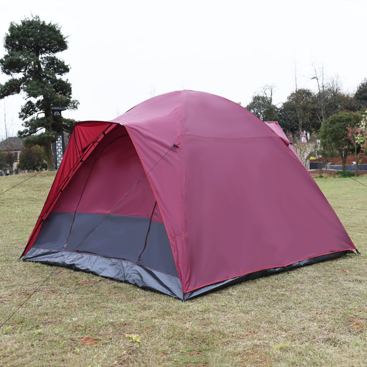 Waterproof 5-7 Person Camping Tent Outdoor Travel Hiking ...