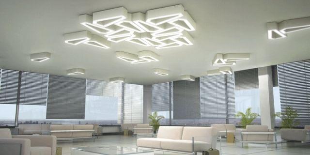Cartoon Stil LED Deckenleuchte Qualle Design für