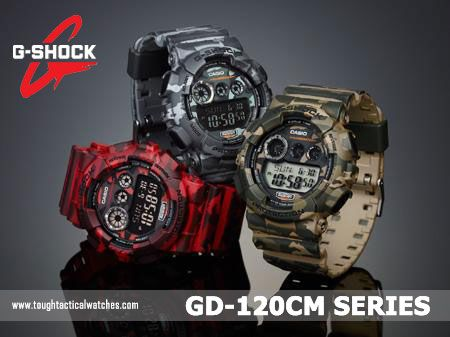 G-Shock GD-120CM-Series