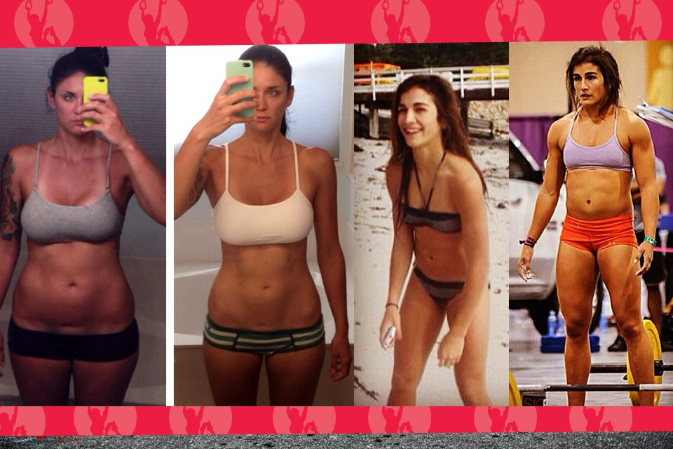 CrossFit Before & After pictures from real girls ...
