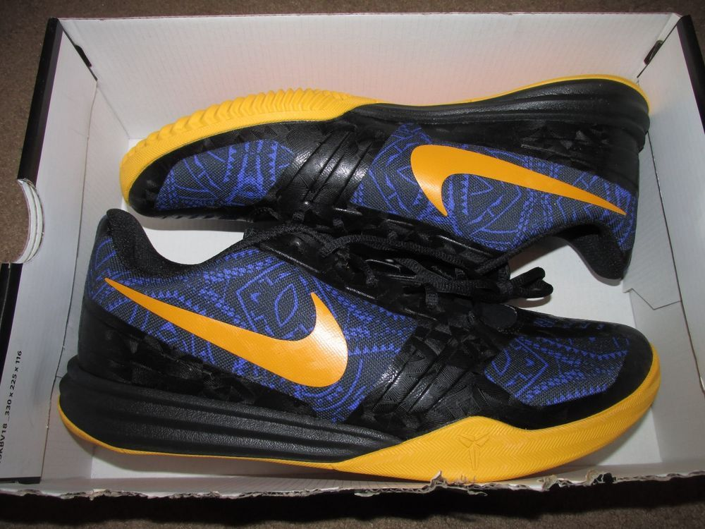 on sale e4bfd e0416 Nike KB Mentality Low Mens Basketball Shoes Persian Violet Black 704942 501  KOBE  Nike  BasketballShoes