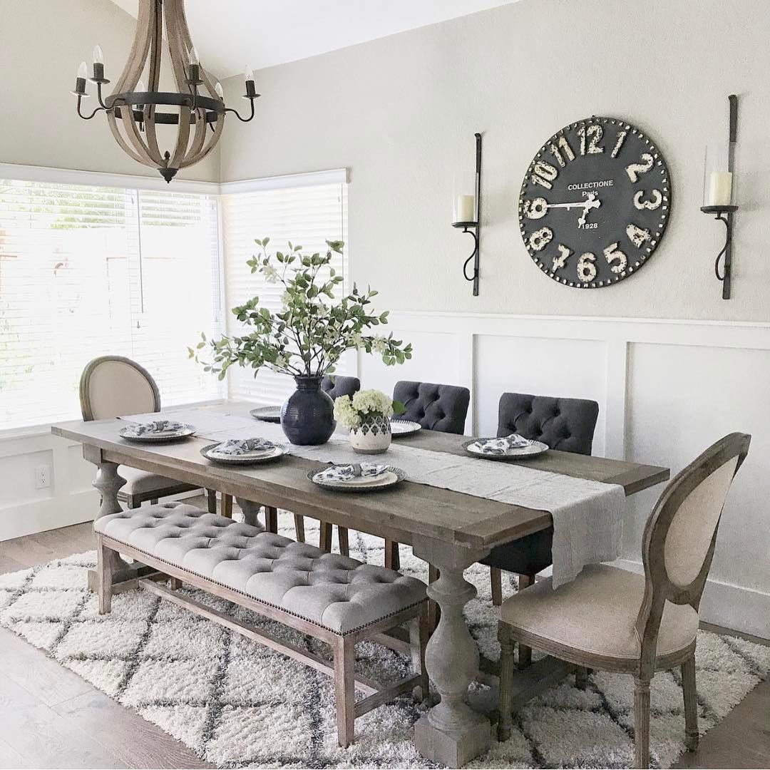 55 Dining Room Wall Decor Ideas: Dining Room Small, Farmhouse Dining Rooms