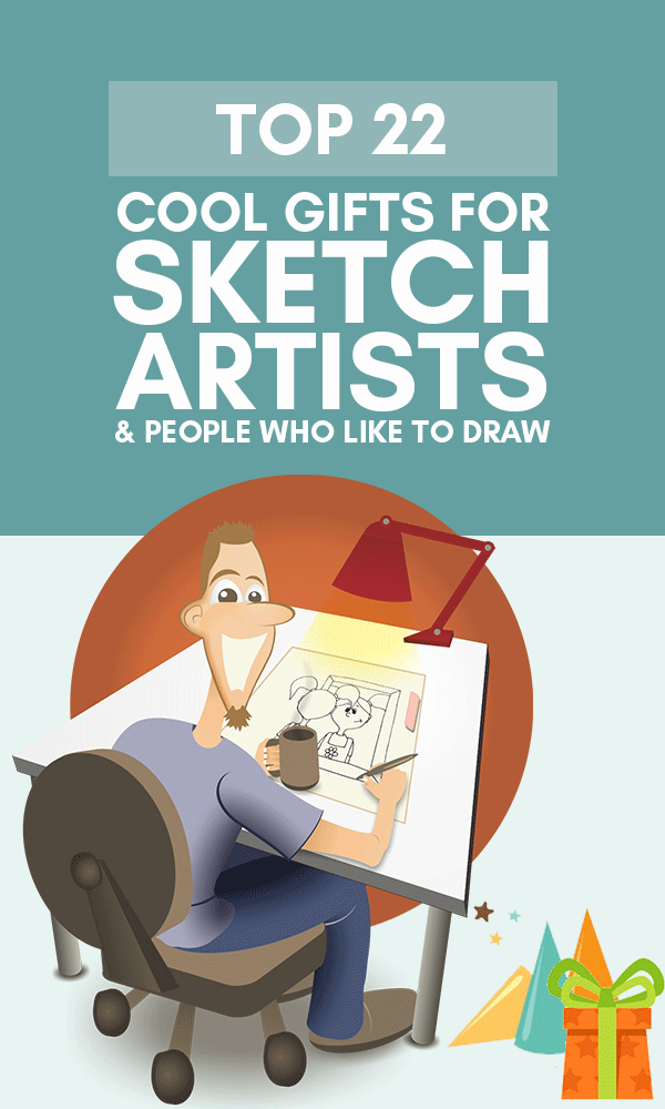 22 Cool Gifts For Sketch Artists People Who Draw In 2019