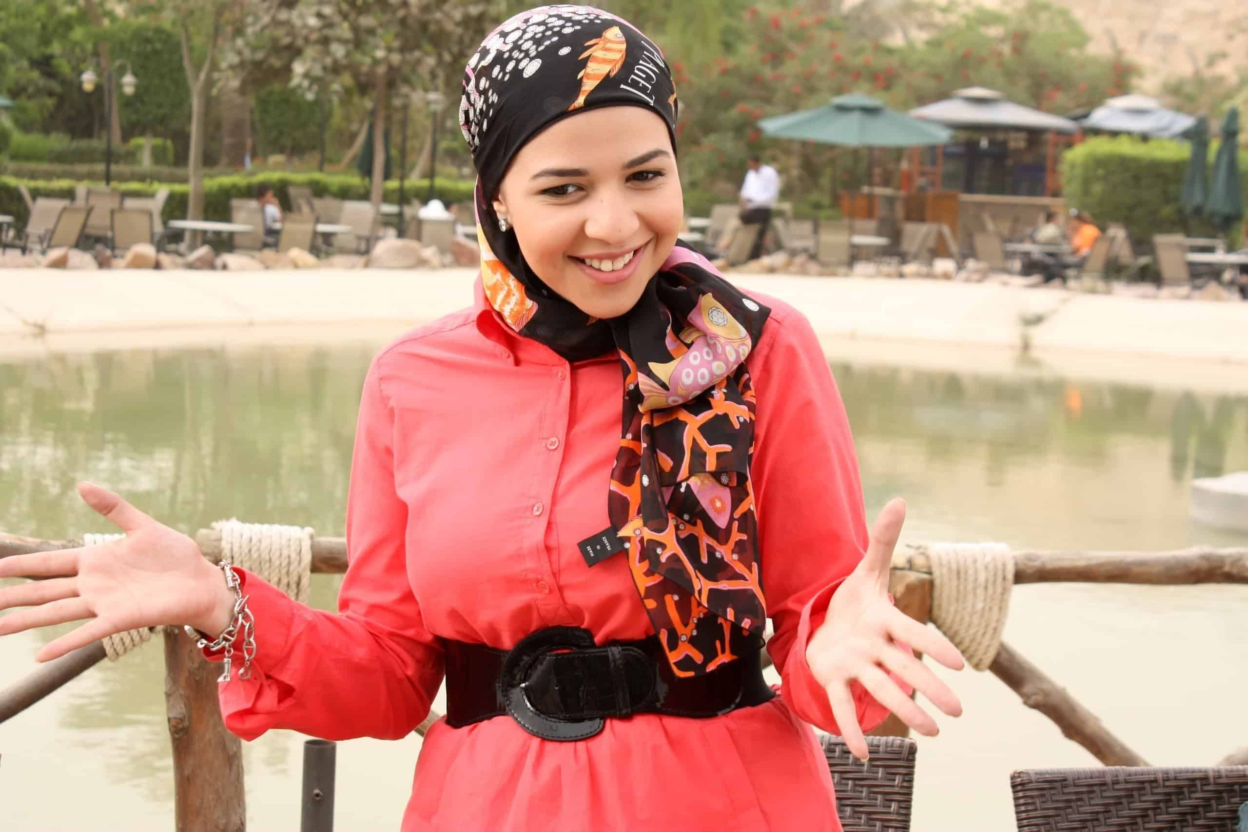 بسبب هذه الصورة الجمهور يشك في إرتداء إيمي سمير غانم الحجاب وإعتزالها للفن Fashion Hijab Egypt