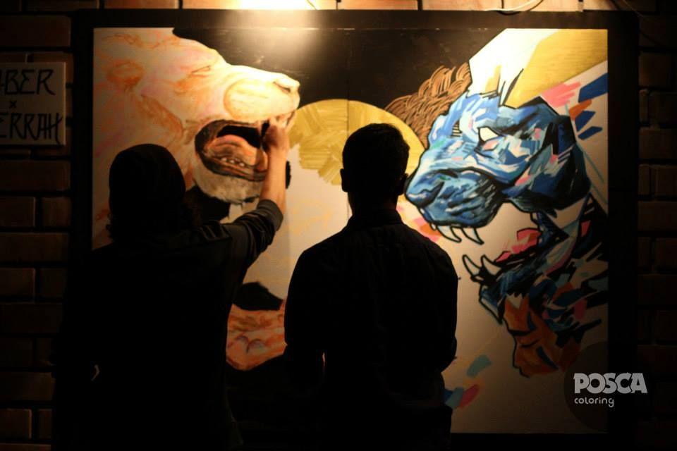"""ARTEMANIFIESTO.COM presenta: """"LIENZOS URBANOS:Exhibición de obras del Art Jam 2013 – 2014 / Art Jam Vol. II @ Sala Raúl..."""