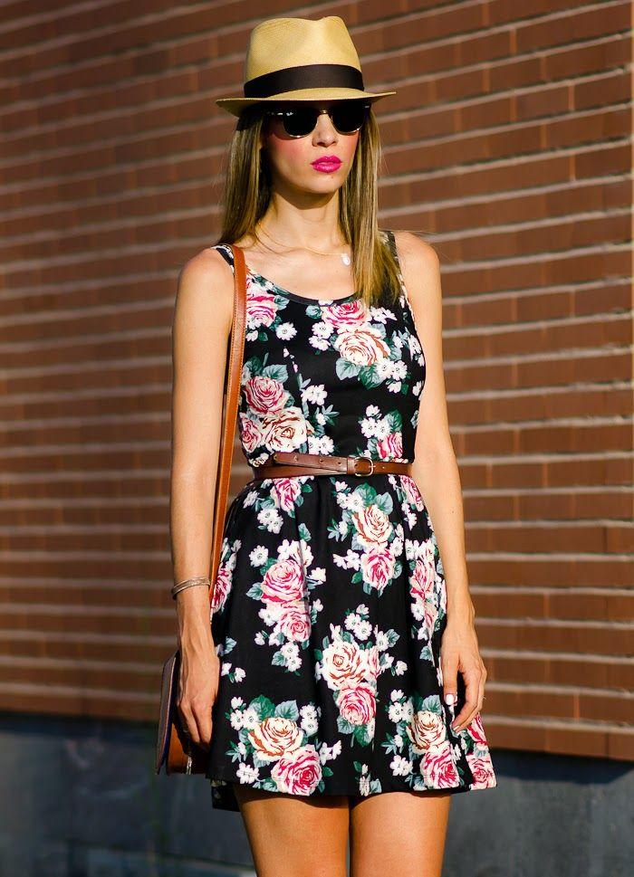 Ms Treinta - Fashion blogger - Blog de moda y tendencias by Alba.: Floral dress