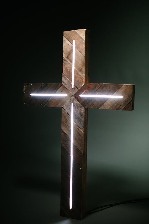 Truth Media The Life Treasure Film Set Build Church Design Church Stage Design Wooden Crosses