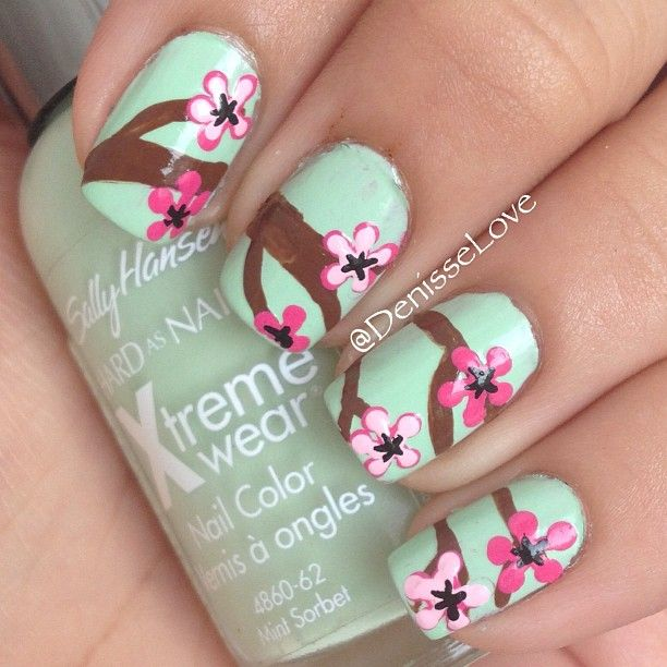 nail #nails #nailart | Beauty nails ♥♥ | Pinterest | Flores