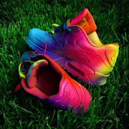 reputable site a7693 52eeb Acheter Chaussures Nike Air Max 90 Candy Drip Rouge Jaune Bleu Paris