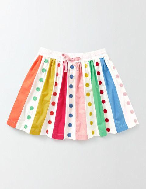 Twirly Rainbow Skirt 32795 Skirts At Boden Dresses Kids