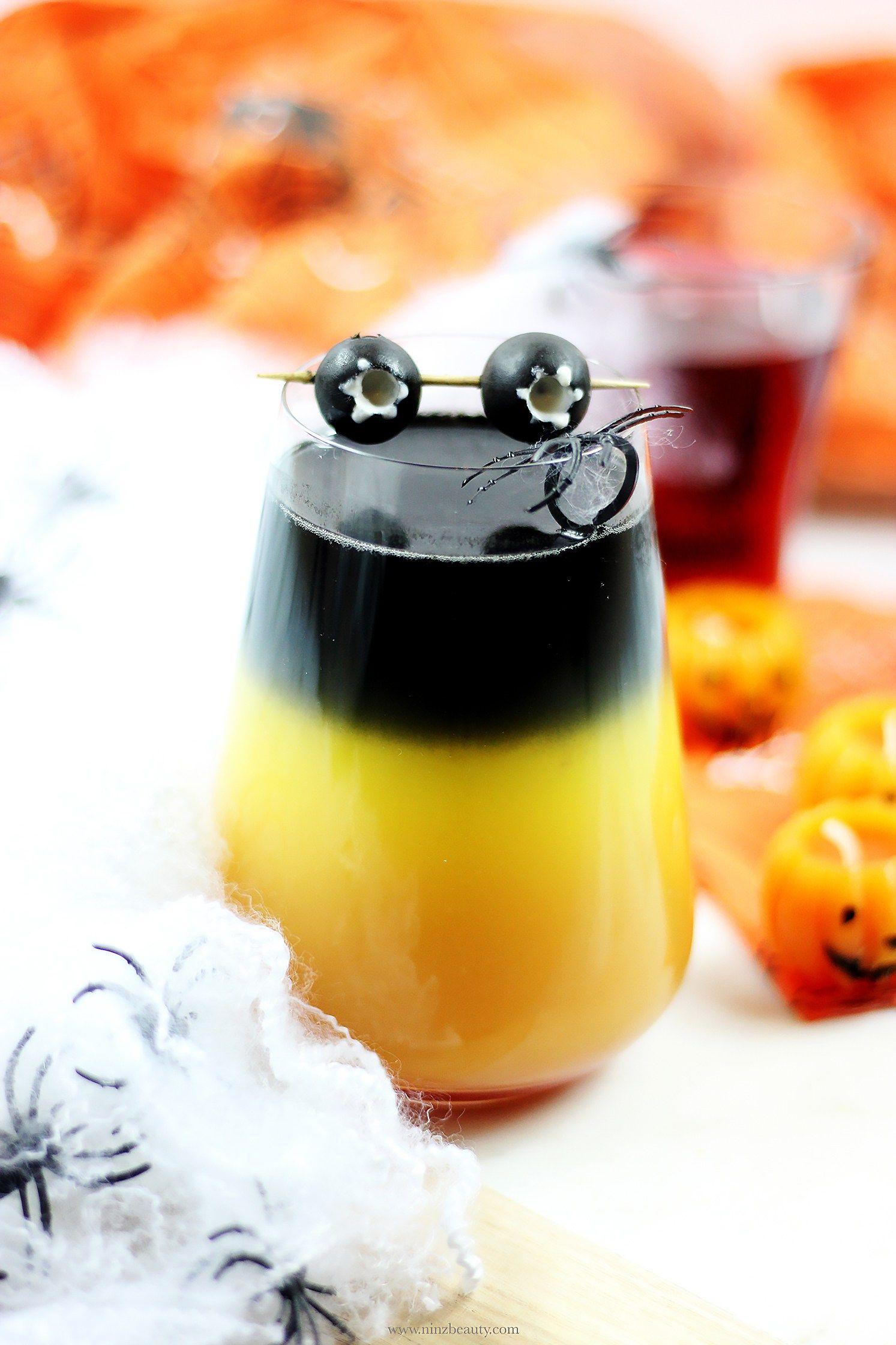 Quick & Easy Spooky Halloween Cocktail Recipe Halloween