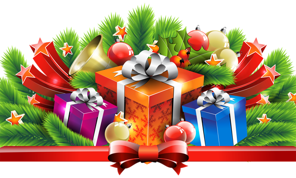 Christmas Gifts Decor Png Clipart Image Christmas Gift Decorations Free Christmas Gifts Christmas Gifts
