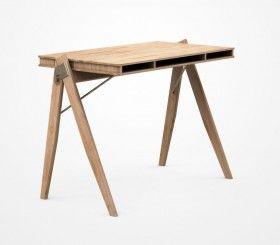 Schreibtisch holz modern  Schreibtisch - modern - FIELD DESK - Designer - We Do Wood ...