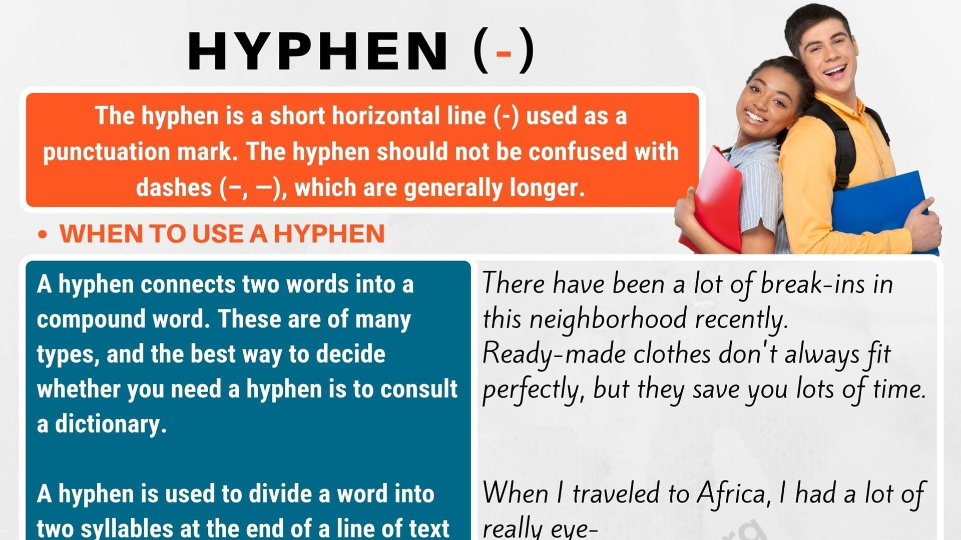 What Is A Hyphen Learn How And When To Use A Hyphen