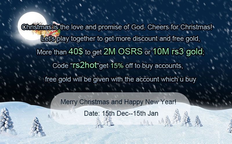 More than 40 ,get 2M osrs gold or 10M rs3 gold , act now