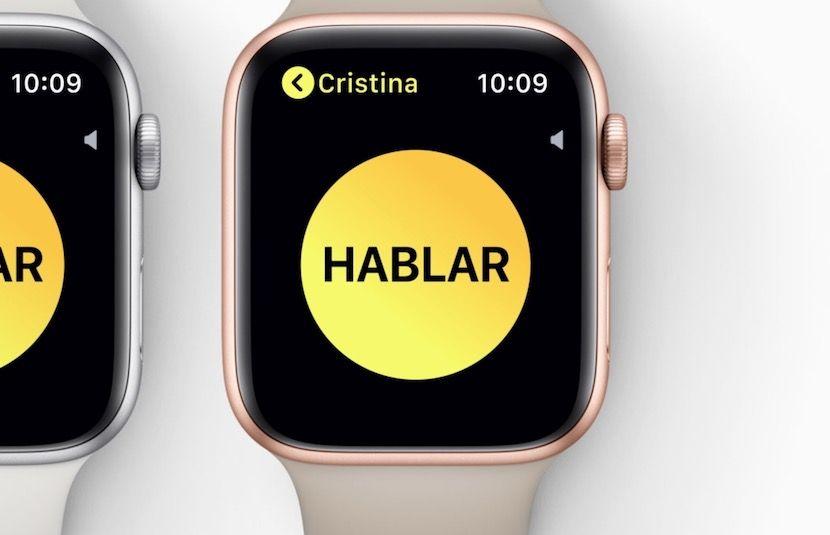 Así funciona WalkieTalkie en el nuevo watchOS 5 (con