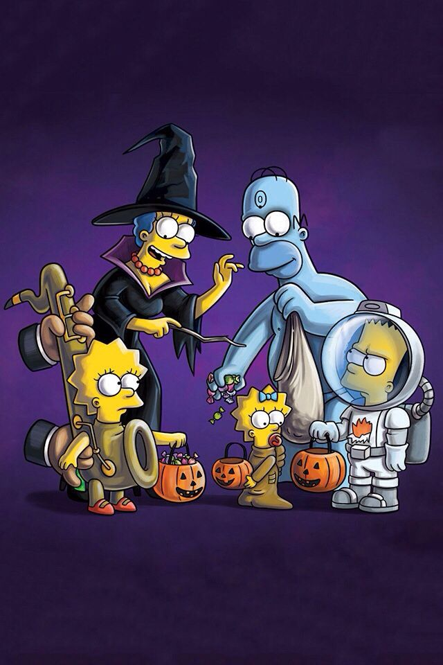 Pin By F Terra52 On Amálka Simpsons Art Simpsons Treehouse Of Horror The Simpsons