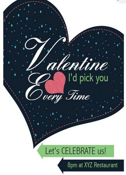 Valentine S Day Celebration Invitation Grouptable Online Invitation Maker Invitation Maker Invitations