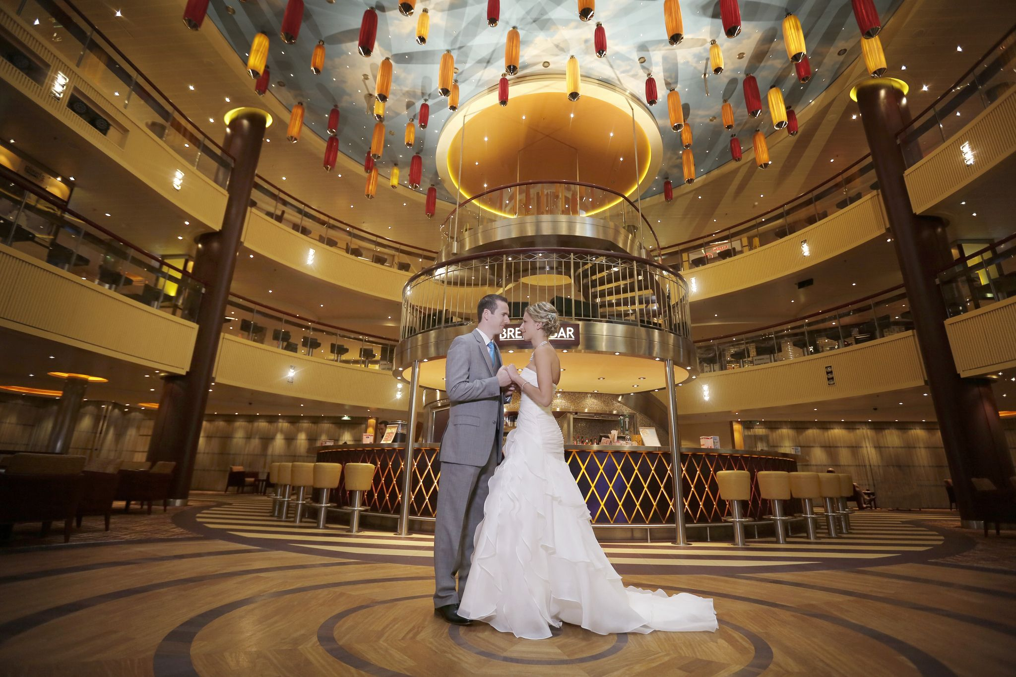 Carnival Cruise Ship Wedding Aboard The Carnival Breeze Kind Of Looks Like The Beauty And Th Cruise Ship Wedding Carnival Cruise Wedding Carnival Inspiration