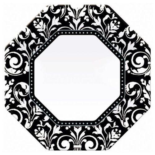 Amscan Formal Affair Octagonal Banquet Dinner Plates 8 By Amscan
