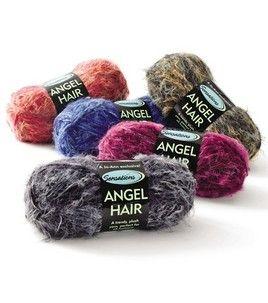 sensations angel hair yarn. super