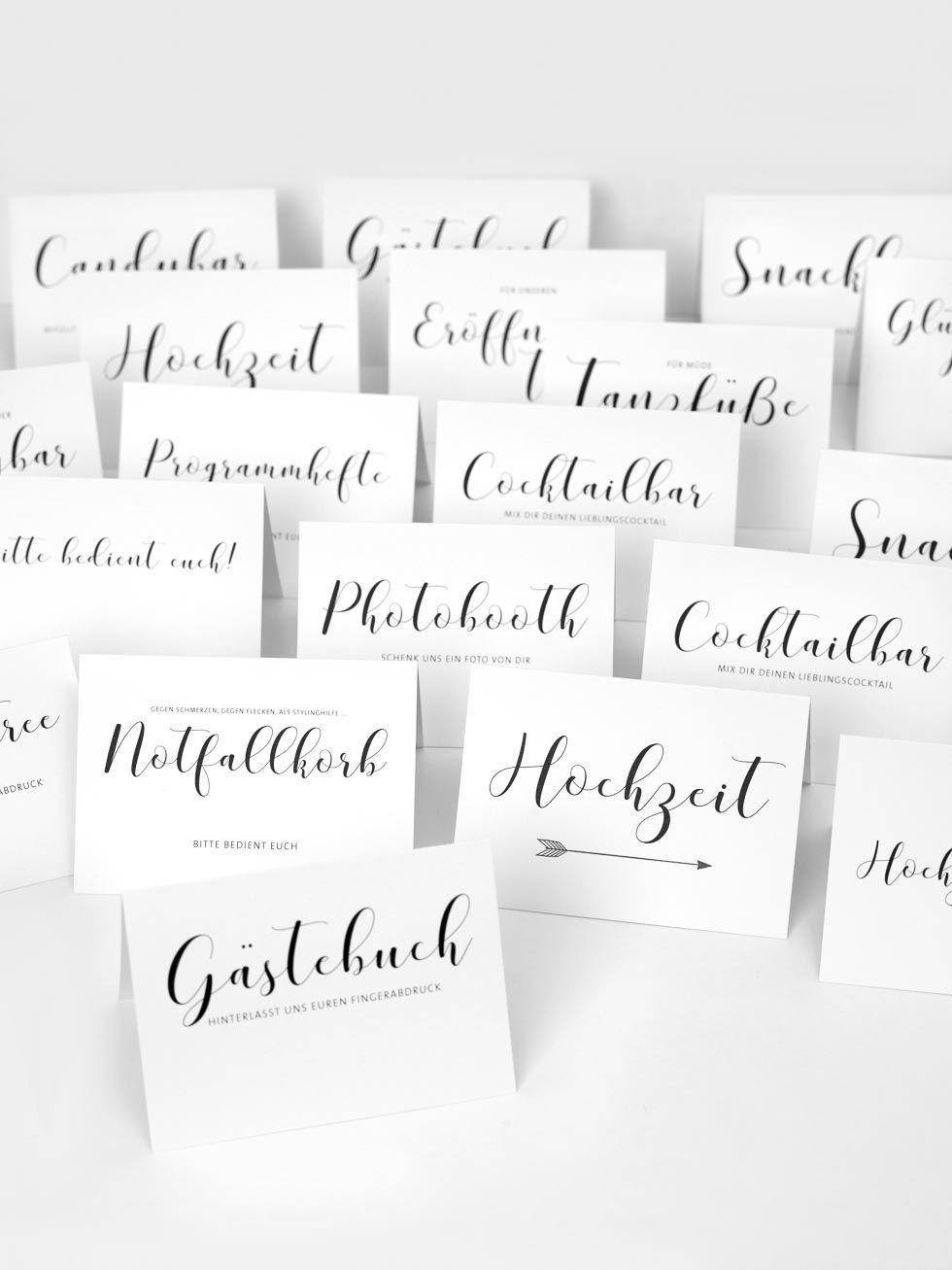 Vorlage Hochzeit Zeichen: 19 Kalligraphie Zeichen für Ihre Hochzeit
