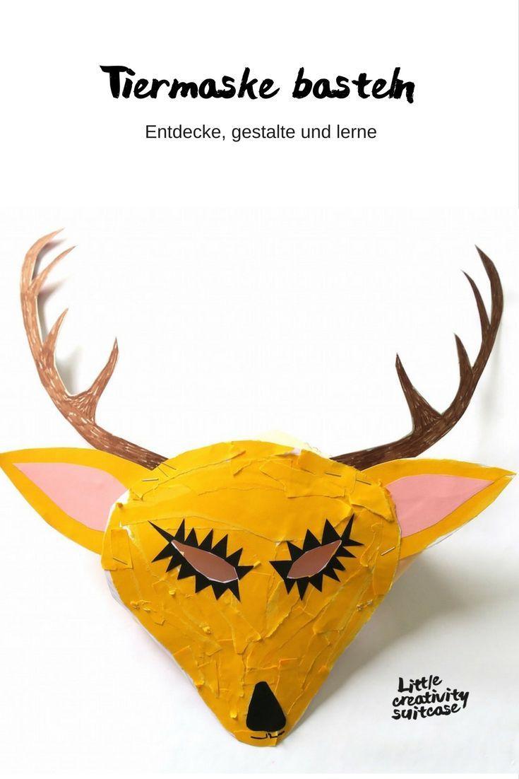 Tiermaske Basteln Craft Ideas Diy For Kids Natural