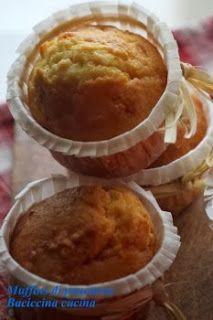 Muffins di panettone