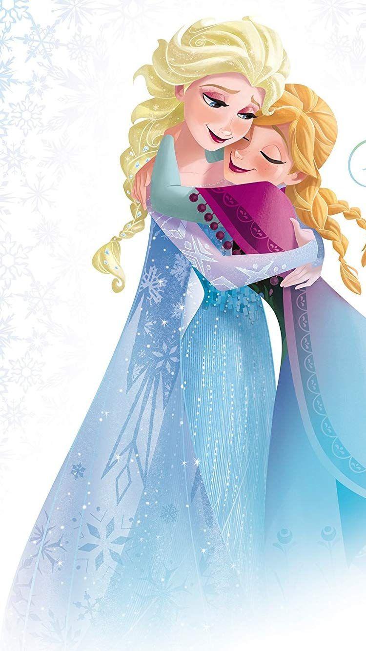 ディズニー アナと雪の女王 アナ エルサ Iphone8 7 6s 6 750 1334 壁紙画像 エルサ アナと雪の女王 壁紙