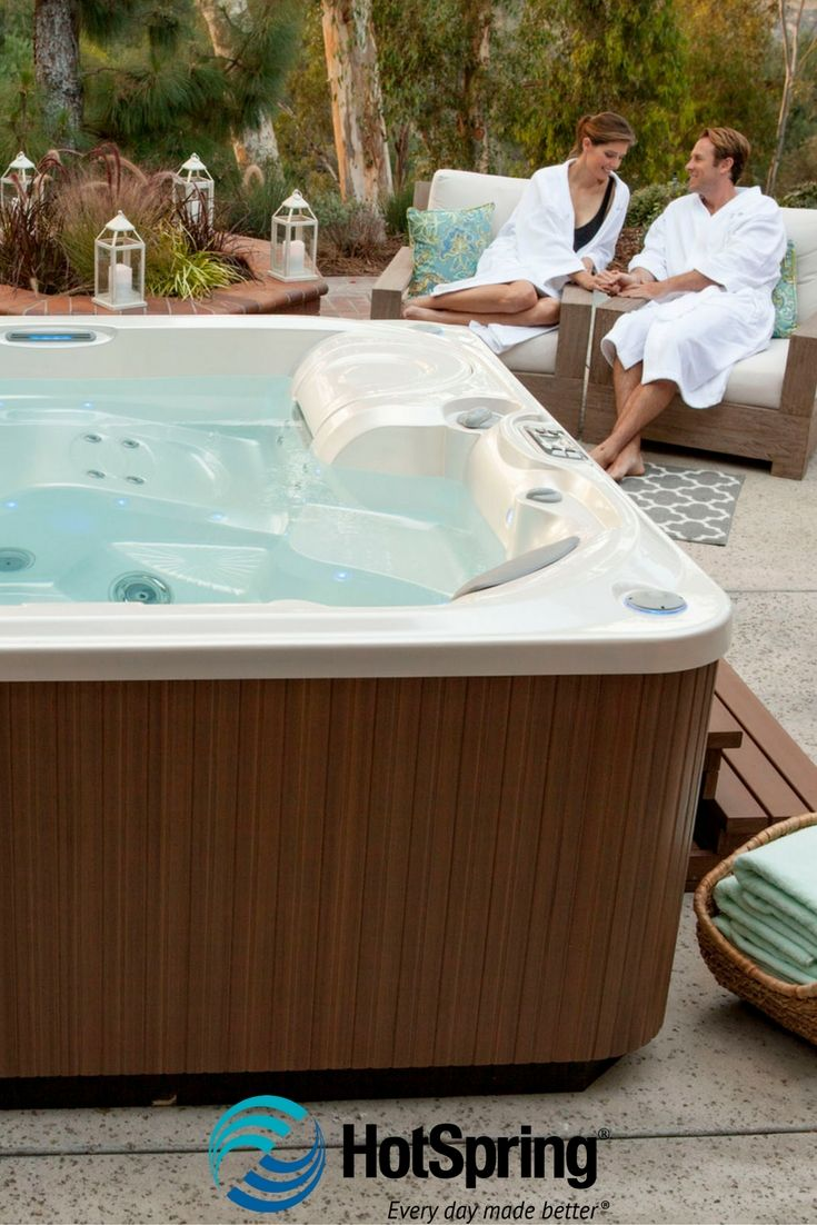Ace salt water sanitizing system can keep spa water clean