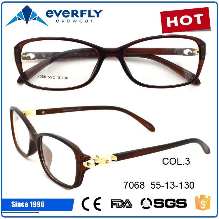 21ecbe1db3 2017 new model china wholesale Plastic lady optical frame eyeglasses ...