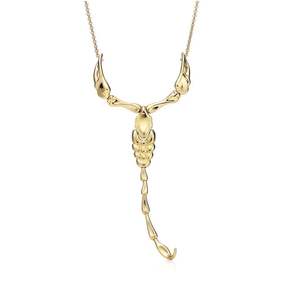 Elsa peretti scorpion pendant elsa peretti elsa and 18k gold elsa peretti scorpion pendant in 18k gold mozeypictures Images