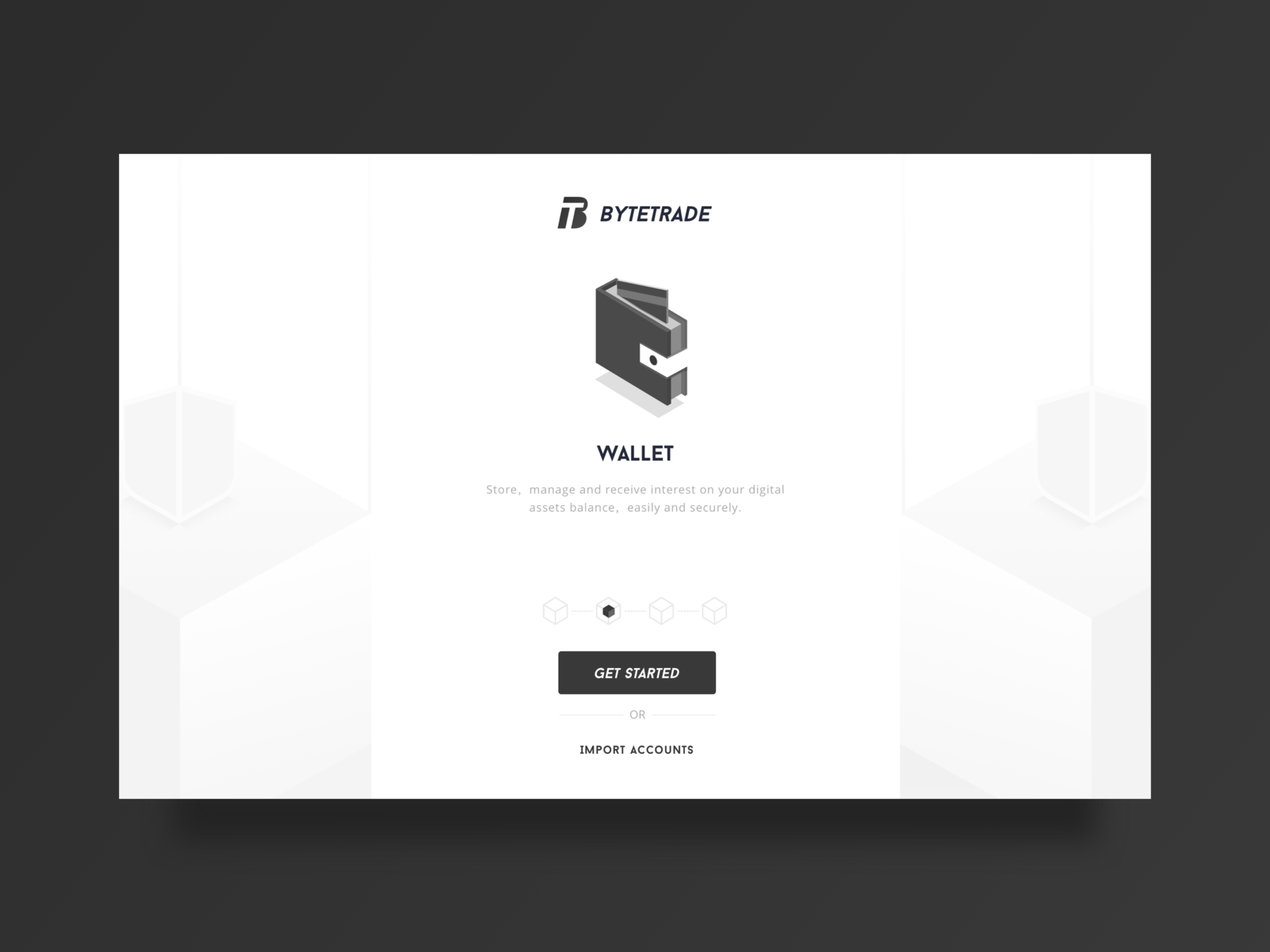 Bytetrade Web Guide Page Web Design Page Design Creative Professional
