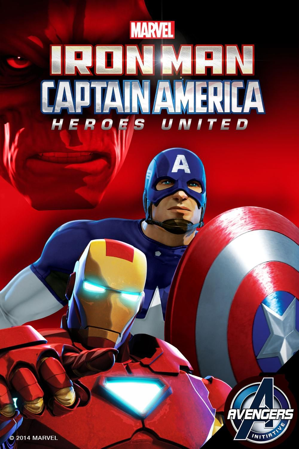Iron Man Captain America Heroes United Iron Man Captain America Captain America Heroes United