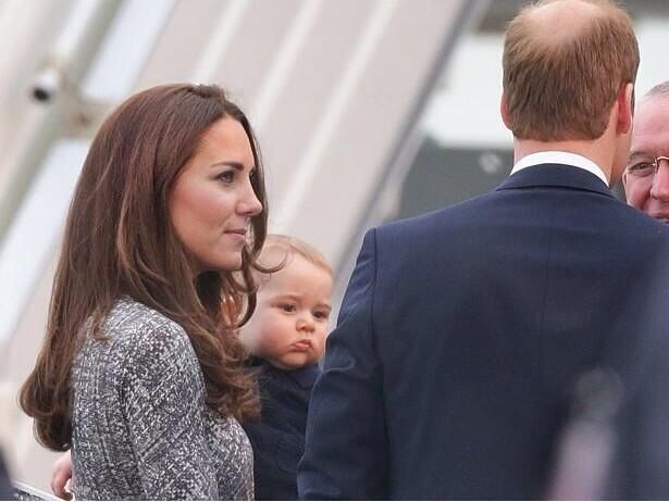 Little Prince George • Royals