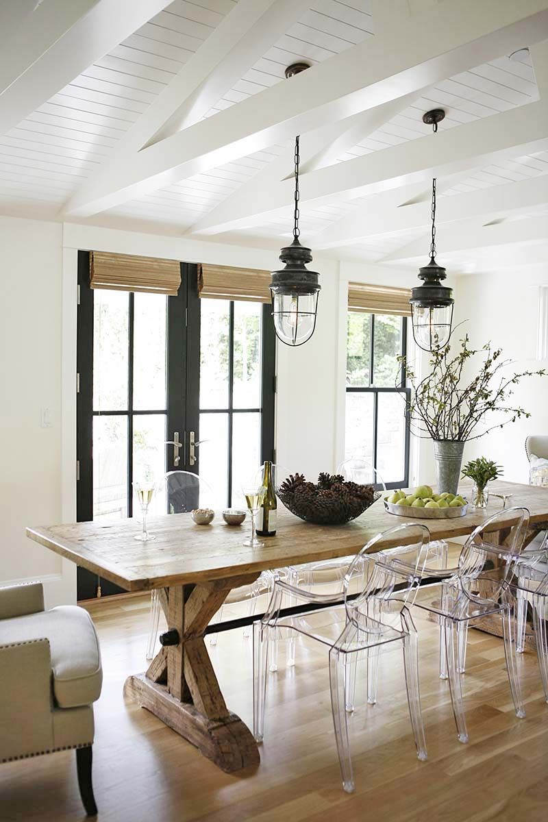 A Gorgeous Modern Farmhouse Style Home In Washington Dining Room DecoratingFarmhouse Table