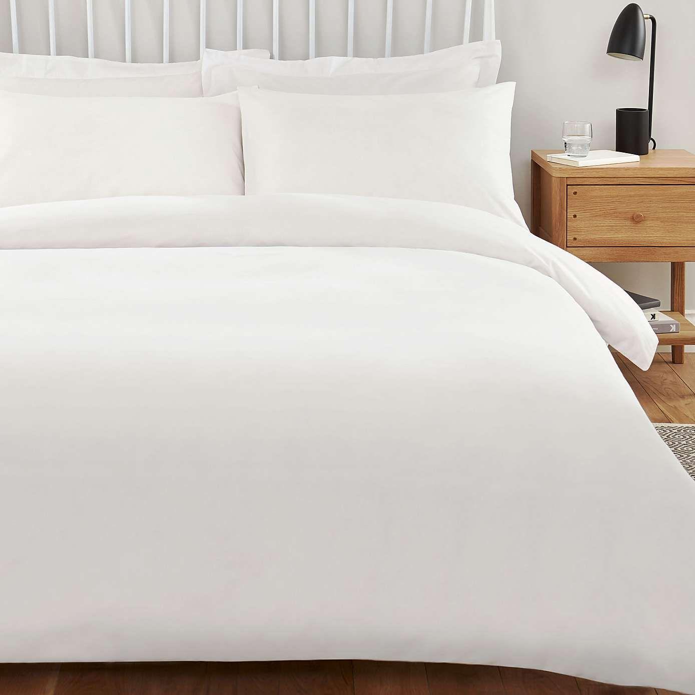 Non Iron Plain Dye White Duvet Cover In 2020 White Duvet Covers