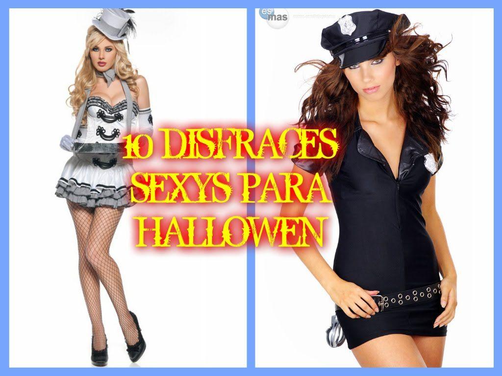 10 DISFRACES SEXYS PARA HALLOWEN