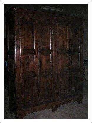armadio da sacrestia 800 | Antiques | Armoire, Furniture, Antiques
