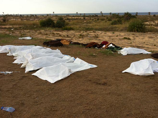 Libia: nueva prueba de asesinatos en masa en el Sitio muerte de Gadafi | Human Rights Watch